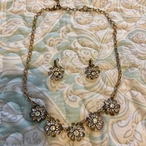Chloe and Isabel necklace and earrings